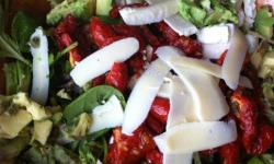 Sundried tomato salad