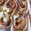 Apple cinnamon scrolls