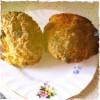 Banana choc chip muffins