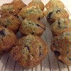 Baking: muffins and date loaf (recipe)